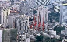 1983 - Central from the Peak