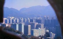 2000 - view from Ten Thousand Buddhas Monastery