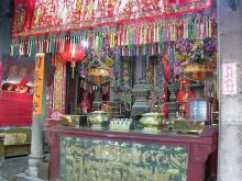 2003 - temple at Tai O