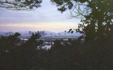 1994 - view from Lok Ma Chau - Shenzhen