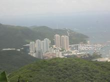 2003 - view from Peak Road