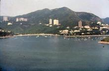 1980 - view to Deep Water Bay from Ocean Park