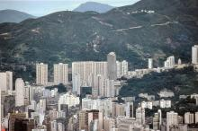 1983 -  Causeway Bay from the Peak