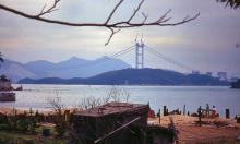 1994 - Tsing Ma Bridge under construction