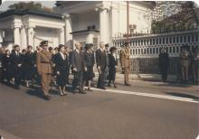 Sir Edward Youde's funeral #10