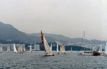 1990 - start of China Sea Race