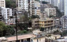 1980 - view from Lai Tak Tsuen