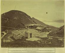 Mountain Lodge Damaged by Typhoon of 1874