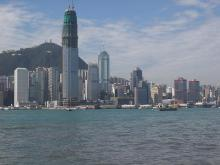 2002 - Hong Kong Island waterfront