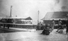 1890s Temporary Timber Pier - Ice House Street