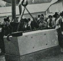 1902 Naval Dockyard Extension Foundation Stone