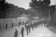 1918 Gresson Street Incident - Police Funeral