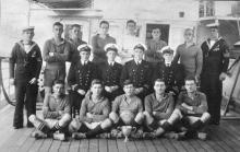 1928 H.M. S/M L3 - Winners of Submarine Cup (China)