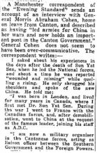1932 - Gen. M.A. Cohen interviewed in Manchester after leaving Hong Kong's Peninsula Hotel for a 3 month-long trip to the U.S.A., the U.K., and Europe..jpg