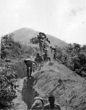 1938 Trench Digging - Indian Troops (2)