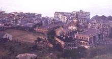 1945 view over HKU