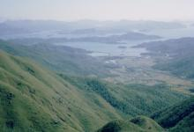 1964 11 HK East from Kowloon Peak, Hebe Haven.jpg