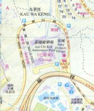 1997 map of Lai Chi Kok