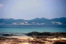 2000 - view across Mirs Bay from Tung Ping Chau