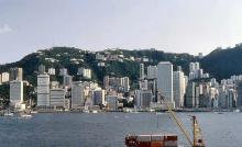 1982 - Central waterfront from Tsim Sha Tsui