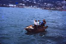 Side Party Boat, HK, 1952