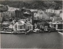 Aerial view of North Point Power Stations A & B