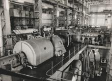Generator Set in North Point Power Station