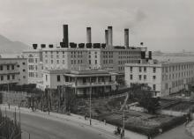 North Point Power Station before the addition of Station B