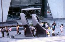 1981 - Connaught Centre forecourt