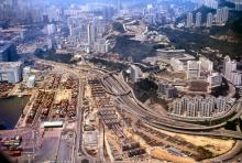 1995 - flying into Kai Tak Airport