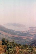 1990 - view to Tung Chung from Ngong Ping