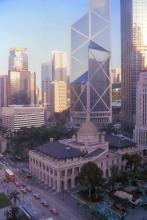 2001 - view from the Mandarin Hotel