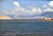 1980 - view to Hong Kong Island from Ma Wan