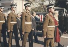Sir Edward Youde's funeral #2