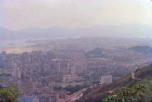 1979 - view from Kowloon Peak