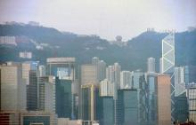 1990 - Admiralty from the harbour