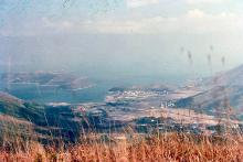 1981 - walking from Ngong Ping to Tung Chung