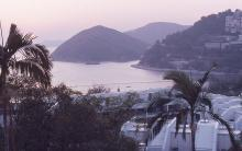 1988 - sunset at Repulse Bay