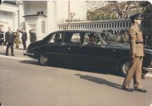 Sir Edward Youde's funeral #3