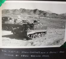 With Comet Tanks 1957-58 Sek Kong