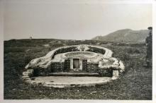 Hillside Grave in New Territories-1958