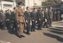 Sir Edward Youde's funeral #9