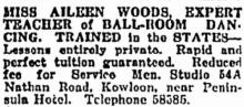 Aileen Woods - Advertisement of Services