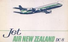 Air New Zealand DC8 Service to Hong Kong