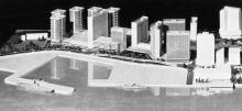 Admiralty District-redevelopment proposal model-1962