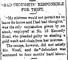 Amah Theft 16 Kennedy Road The China Mail, page 4, 14th February 1917.png