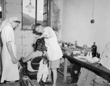 At Stanley Internment Camp, Hong Kong. August and September 1945.(2)