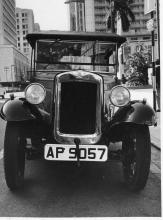 Vintage Austin-7 shipped to Hong Kong in 1969