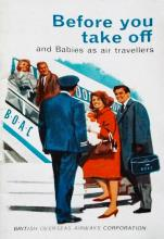 BOAC-Before you take off-with babies-Advice leaflet-cover only