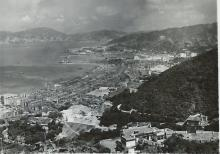 Bowen Road c.1951 - Building the Service Reservoir and then the Tennis Courts.JPG